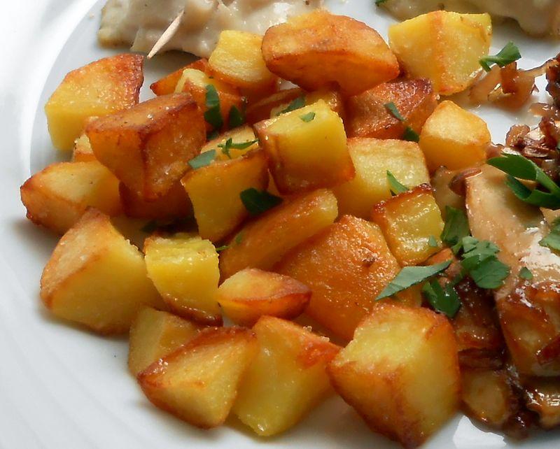 blanchieren von kartoffeln